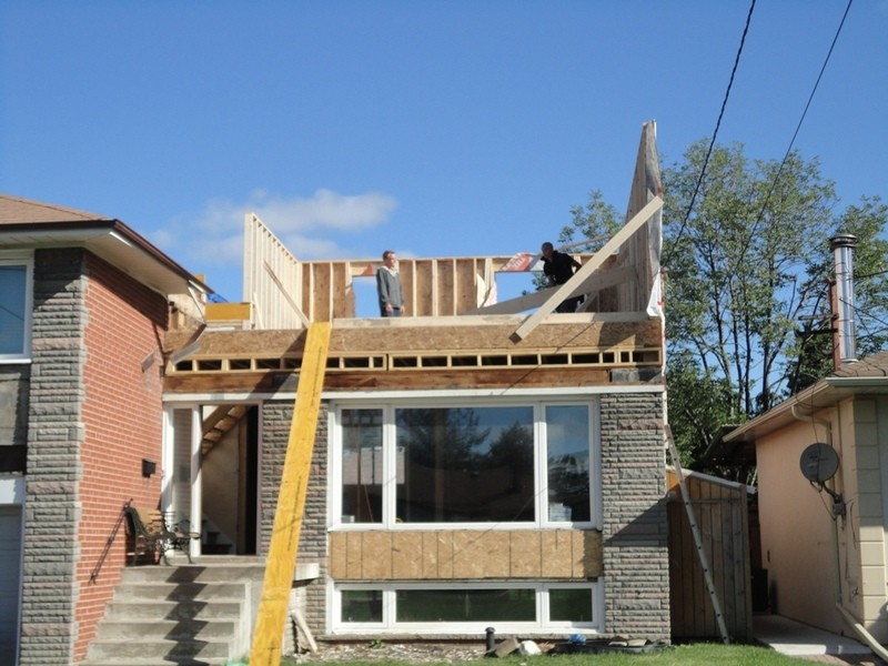 Project 2nd Floor Addition On Split Bungalow
